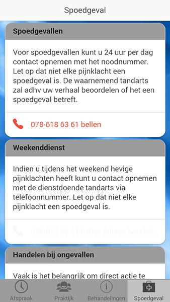 telefoonnummer niet opnemen